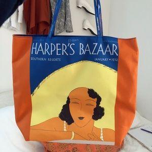 VINTAGE Harpers Bazaar Tote